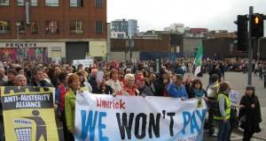 Limerick protest