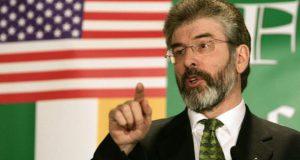 Gerry Adams in NY