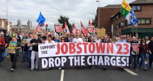 Jobstown protest