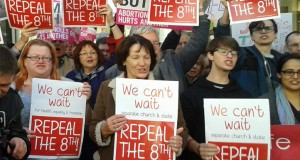Cork abortion pill protest