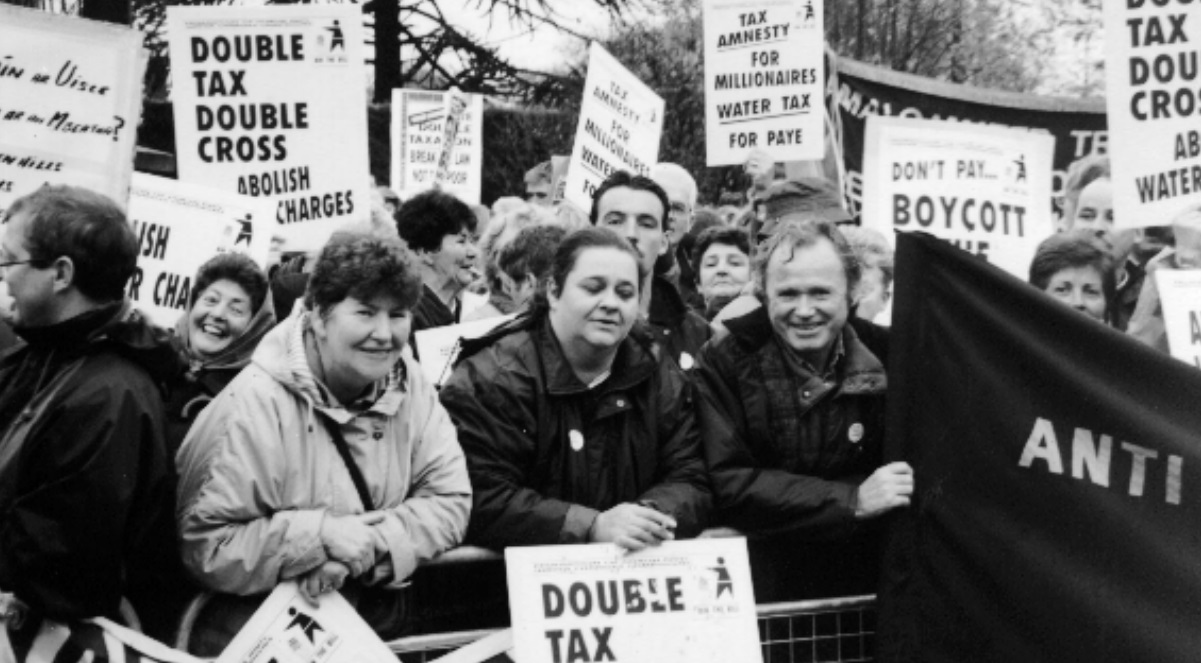 water protest 96
